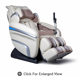 Osaki Executive ZERO GRAVITY Heating Massage Chair Model OS-7200HC Cream