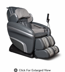 Osaki Executive ZERO GRAVITY Heating Massage Chair Model OS-7200HD Charcoal