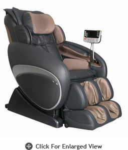 Osaki Executive ZERO GRAVITY Massage Chair Charcoal