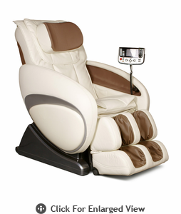 Osaki Executive ZERO GRAVITY Massage Chair Cream