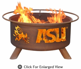 Patina Products  Arizona State  Sun Devils Fire Pit