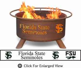 Patina Products Florida State Seminoles Fire Pit