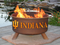 Patina Products Indiana Hoosiers Fire Pit