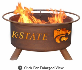 Patina Products  Kansas State University  Wildcats Fire Pit