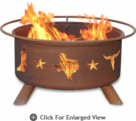 Patina Products  Lone Star-Texes  Fire Pit