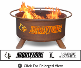 Patina Products Louisville Cardinals Fire Pit