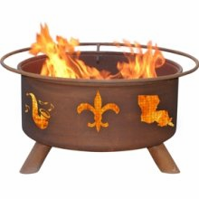 Patina Products  Mardi Gras  Fire Pit