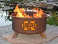 Patina Products  Mississippi Bulldogs  Fire Pit