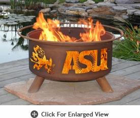Patina Products NCAA Officially Licensed Collegiate Fire Pits