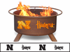 Patina Products Nebraska Huskers Fire Pit
