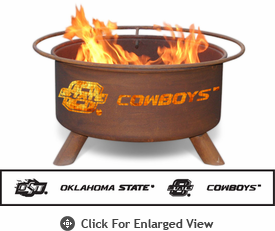 Patina Products Oklahoma State Cowboys Fire Pit