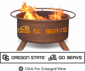Patina Products Oregon State Beavers Fire Pit