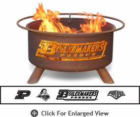 Patina Products Purdue University Boilermakers Fire Pit