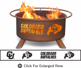 Patina Products University of Colorado Buffaloes Fire Pit