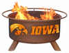 Patina Products  University of Iowa  Hawkeyes Fire Pit
