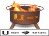 Patina Products University of Miami Fire Pit