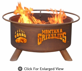 Patina Products  University of Montana Grizzlies  Fire Pit