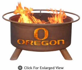 Patina Products University of Oregon  Ducks Fire Pit