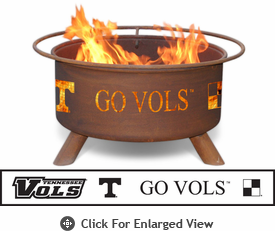 Patina Products University of Tennessee-Knoxville Volunteers Fire Pit