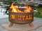 Patina Products  University of Utah Utes Fire Pit