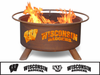Patina Products University of Wisconsin Fire Pit