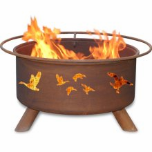 Patina Products  Wild Ducks  Fire Pit