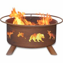 Patina Products  Wildlife  Fire Pit