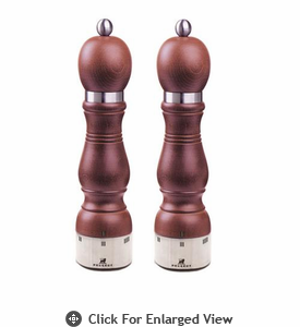 "Peugeot  9.5"" Chateauneuf u'Select Wild Cherry Salt & Pepper Mill"