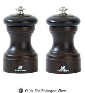 Peugeot Bistro  4� Chocolate Salt & Pepper Mill
