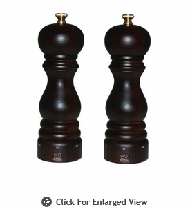 "Peugeot Paris u'Select  10.75"" Chocolate Salt & Pepper Mill Set"
