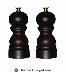"Peugeot Paris u'Select  5"" Chocolate Salt & Pepper Mill Set"