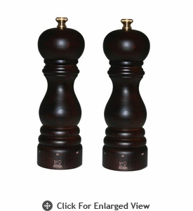 "Peugeot Paris u'Select  7"" Chocolate Salt & Pepper Mill Set"