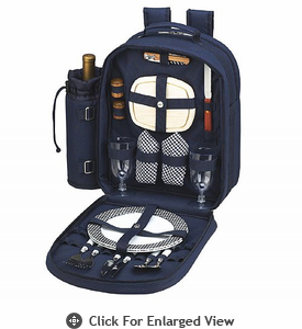 Picnic at Ascot  Bold Backpack for Two