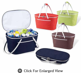 Picnic at Ascot Bold Collection Collapsible Insulated Baskets
