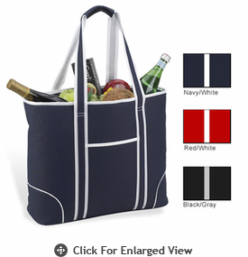 Picnic at Ascot Bold Collection  Large Cooler Tote