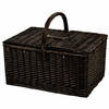 Picnic at Ascot Buckingham Picnic Basket for 4 w/ Blanket
