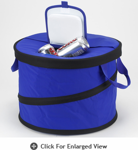Picnic at Ascot Classic Collection  Collapsible Party Tub Cooler – 48 Can-Royal Blue