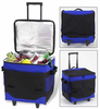 Picnic at Ascot Classic Collection  Collapsible Rolling Cooler – 60 Can