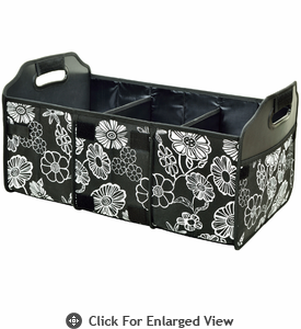 Picnic at Ascot  Collapsible Trunk Organizer  Night Bloom