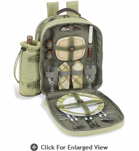 Picnic at Ascot Deluxe Equipped Picnic Backpack for 2 Hamptons