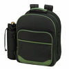 Picnic at Ascot Eco Deluxe Equipped Picnic Backpack for 2 Forest Green