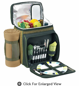 Picnic at Ascot  ECO Picnic Cooler with Blanket  for Two
