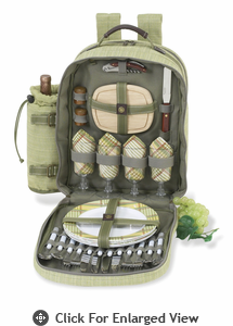 Picnic at Ascot Hamptons  Picnic Backpack for Four