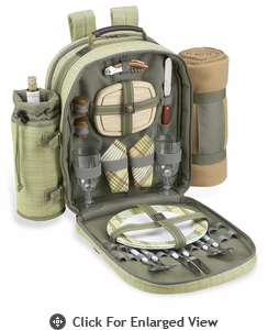 Picnic at Ascot Hamptons  Picnic Backpack with Blanket for Two