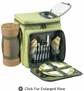 Picnic at Ascot  Hamptons  Picnic Cooler with Blanket  for Two
