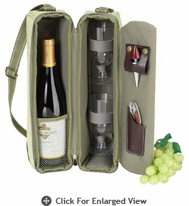 Picnic at Ascot  Hamptons  Wine Carrier for 2