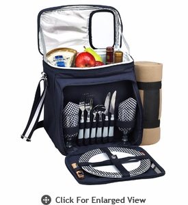 Picnic at Ascot  London Picnic Cooler with Blanket for Two