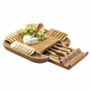 Picnic at Ascot  Melvern Cheese Board Set  With Cracker Rim Contents