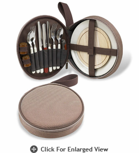 Picnic at Ascot  New Hudson  Deluxe Travel Picnic Set