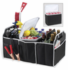 Picnic at Ascot  Original Folding Trunk Organizer  w/ Cooler  Black